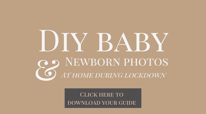 DIY newborn photoshoot