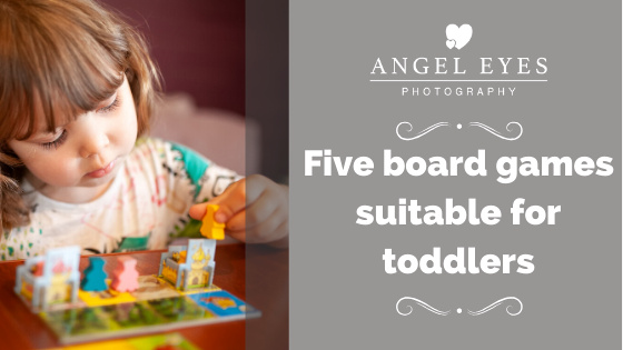 Five board games suitable for toddlers