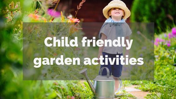 Children's garden activities