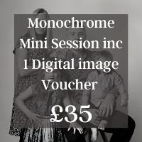 Monochrome Mini Session Voucher £35