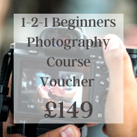 1-2-1 Beginners Photography Course Voucher  £149
