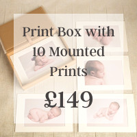 Print Box with 10 Mounted Prints £149