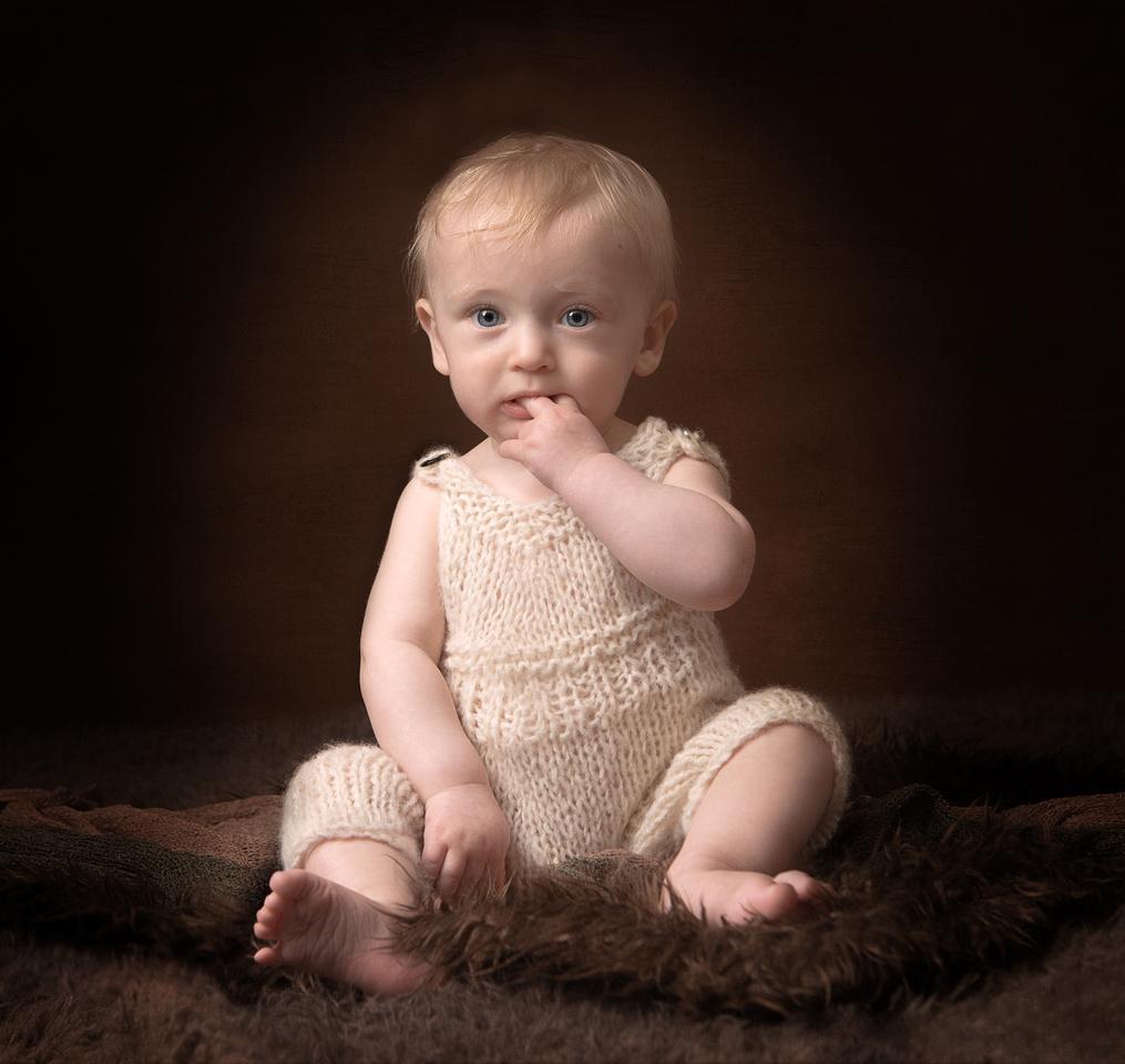baby fine art portrait - photographer yeovil