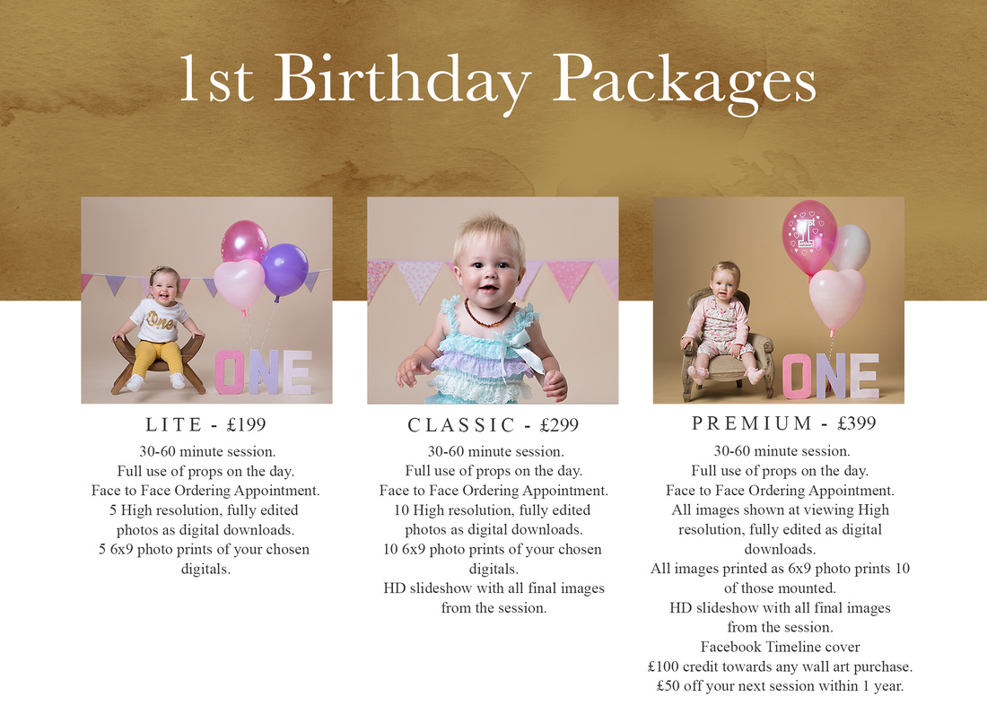 1st Birthday packages