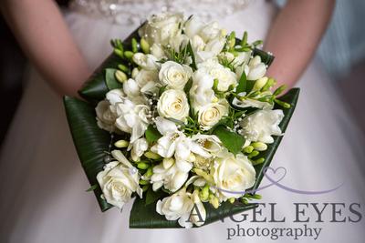 A Beautiful wedding Bouquet - photographer somerset