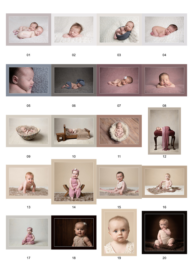 My Licentiate Panel of my baby photography in Somerset